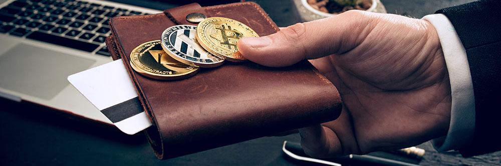 Portefeuille de cryptomonnaies diversifié