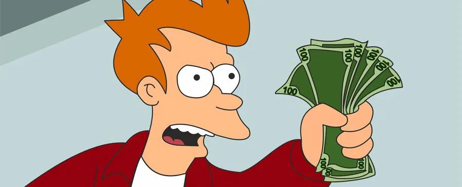 "Texte de vente convaincant. Copywriting ""Shut up and take my money""."