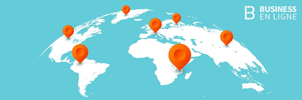 Implantation géographique entreprise